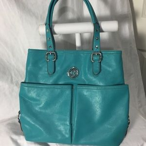 Relic Hailey Teal Under Arm Tote Bag